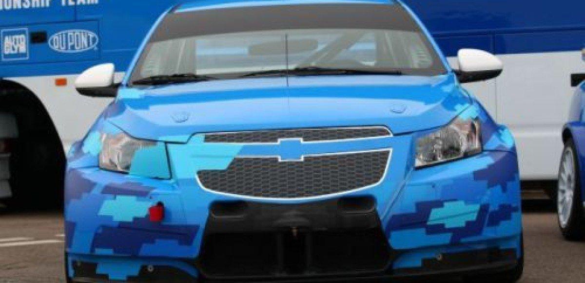 Chevrolet представляет новый Cruze WTCC