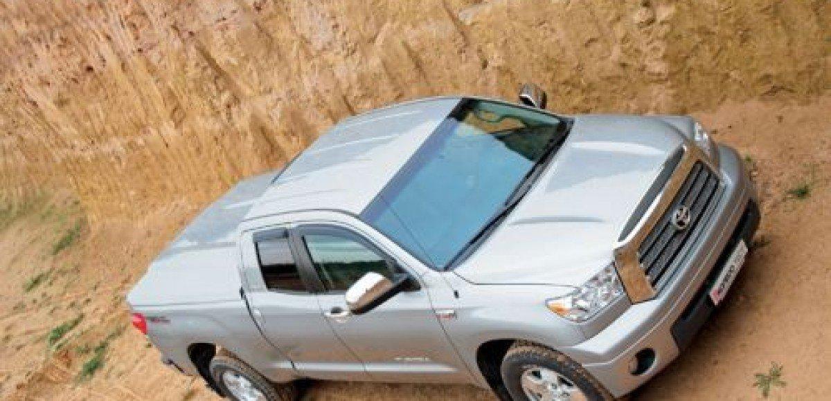 Toyota будет экспортировать в Россию модели Tundra и Sequoia