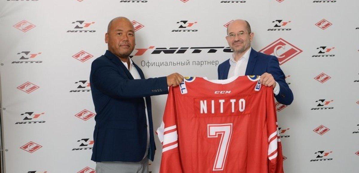 Nitto Tire партнер «Спартака»