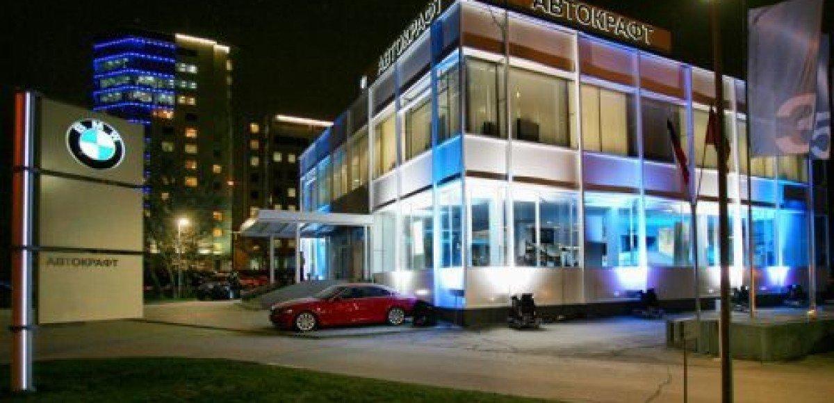 «Автокрафт». Новый BMW 7-Series на «Аллее совершенства»