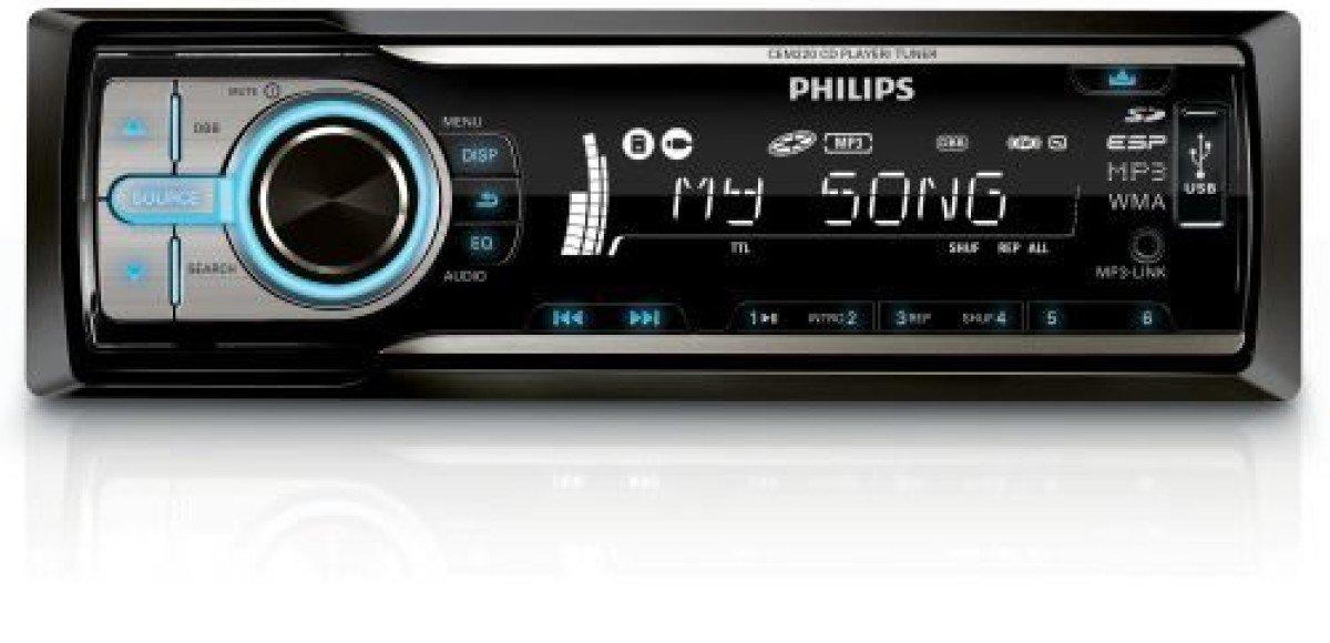 Головные устройства Philips СEM220, CEM250, CED320. Музыка в дороге