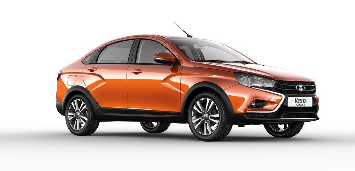 АвтоВАЗ объявил цены на «внедорожный» седан Lada Vesta Cross