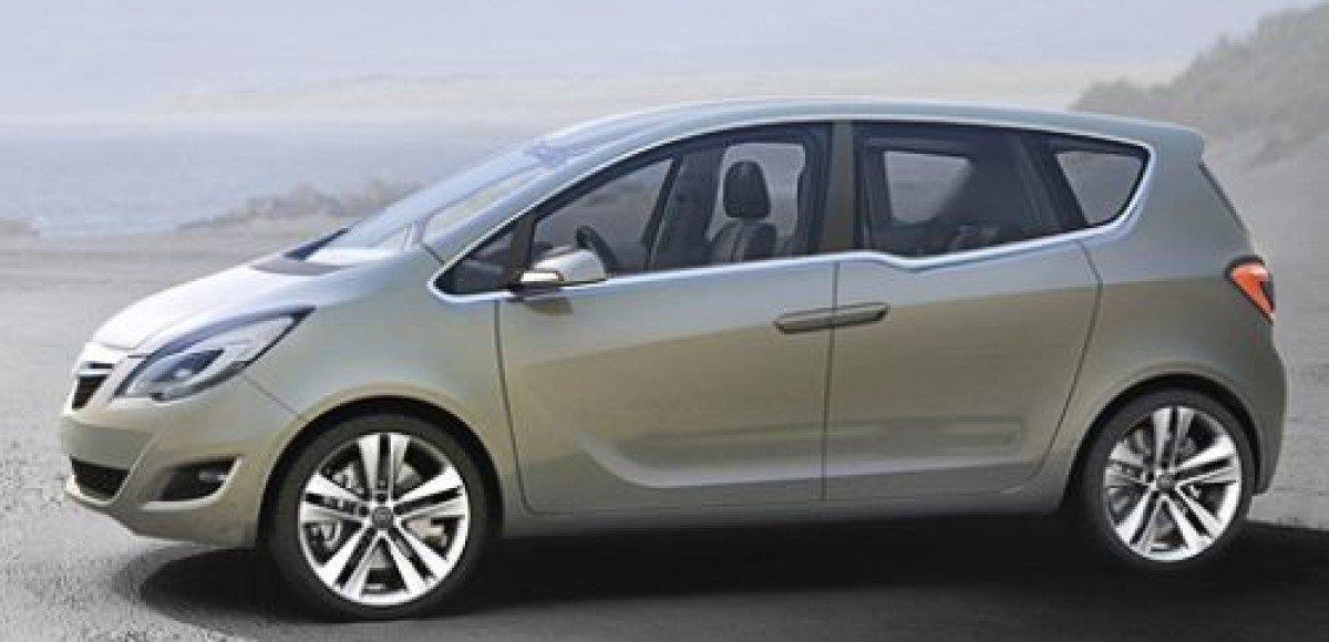 В General Motors испытывают Opel Meriva нового поколения