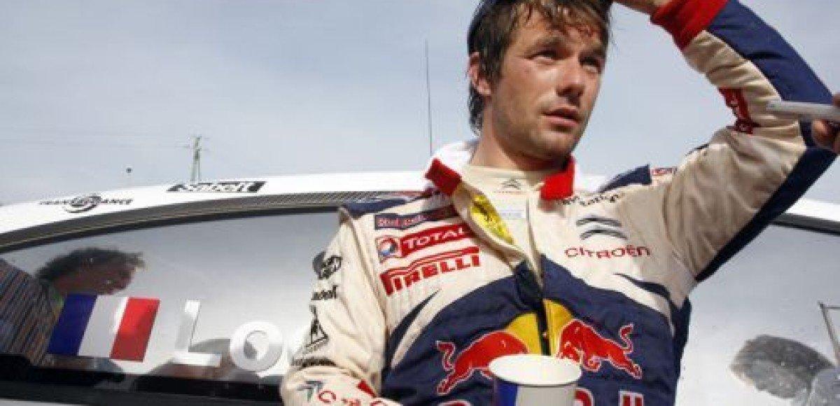Команда Citroen Racing продлила контракт с Себастьеном Лоэбом в чемпионате мира по ралли
