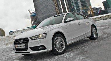 Audi A4 quattro. Поколение 4S