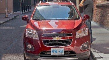 Chevrolet Tracker. В стране великанов