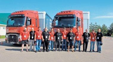 Renault Trucks Optifuel Challenge: состязание водителей грузовиков