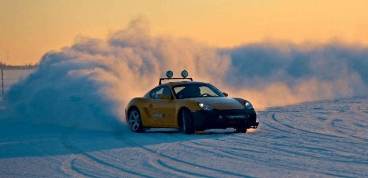Laponie Ice Driving. Зимний экстрим