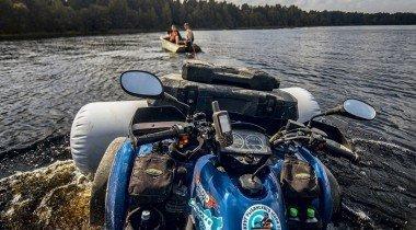 По суше и по морю: путешествие на квадроциклах