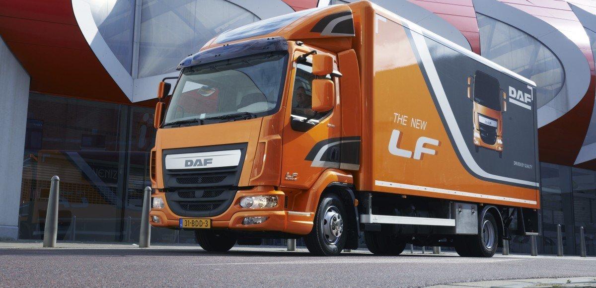 Три награды DAF Trucks