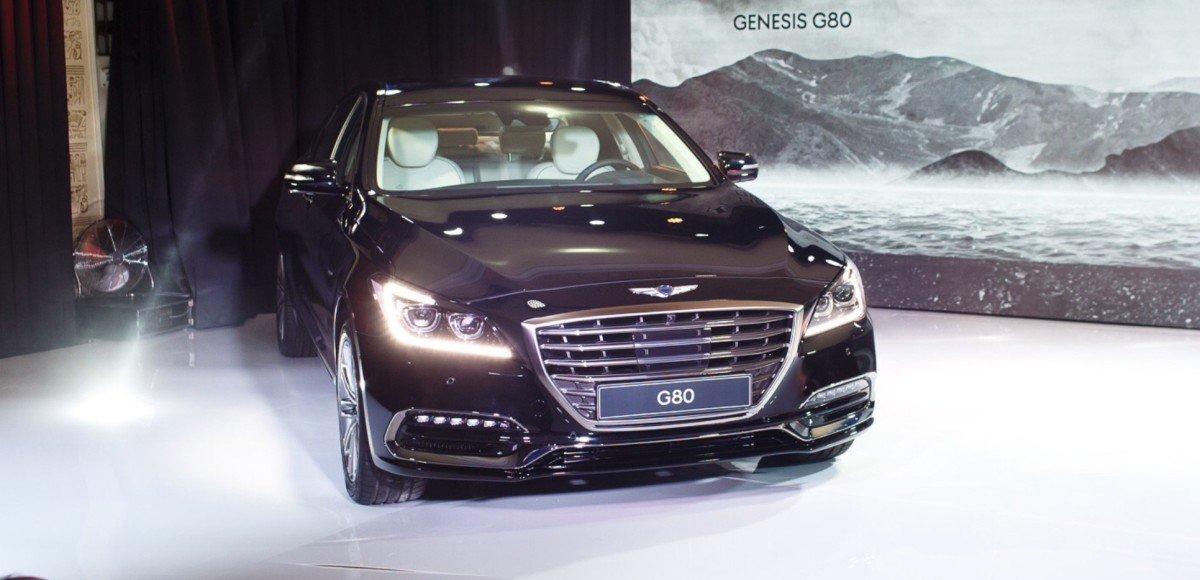 Genesis G80 представлен в России