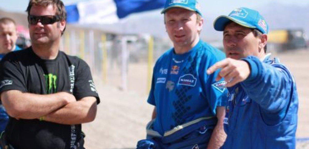 «КАМАЗ-Мастер» занял три первых места на этапе «Дакара»