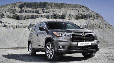 Toyota отзывает внедорожники Highlander по всему миру
