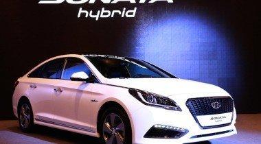 Hyundai представил гибридную модель Sonata