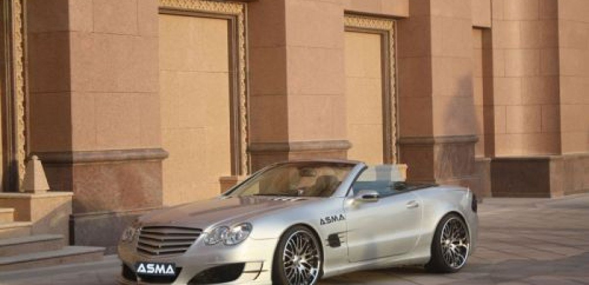 Mercedes-Benz SL. Магия тюнинга ASMA