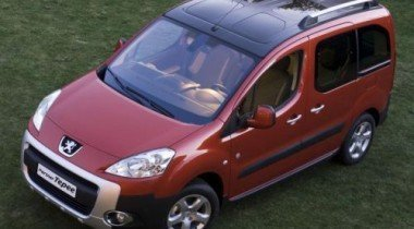 Обновленные версии Peugeot Partner и Peugeot Partner Tepee