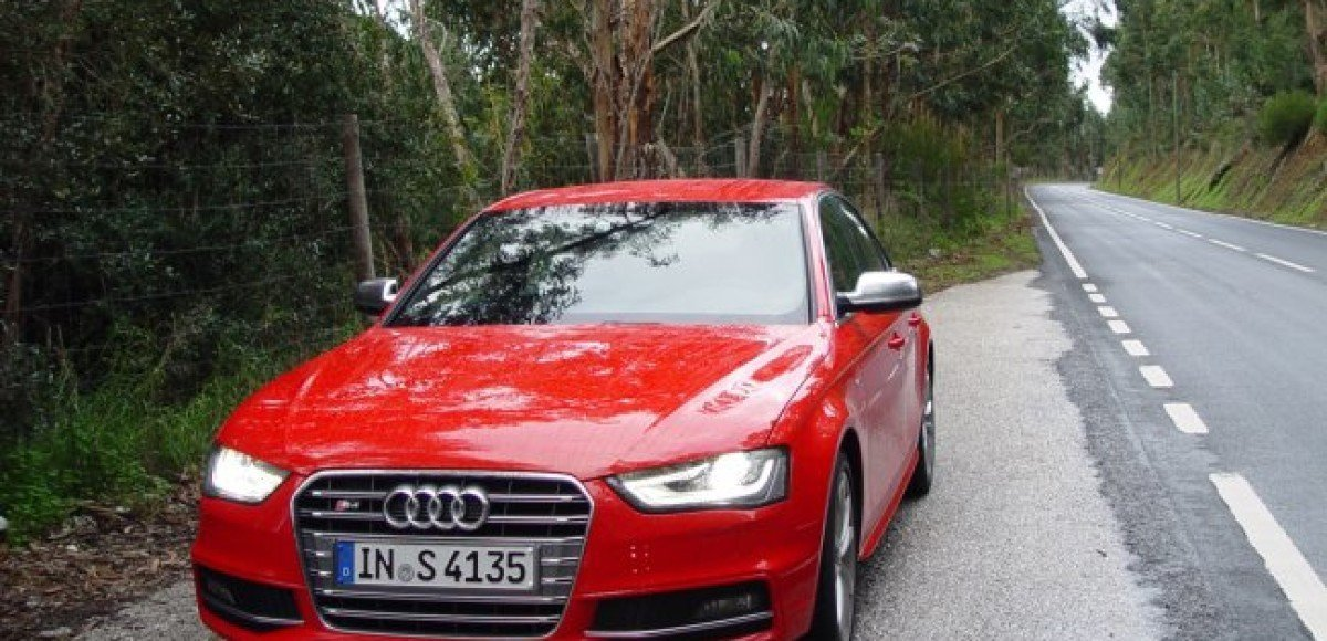 Тест-драйв новых Audi A4 и S4, Португалия, 5-6.12.2011