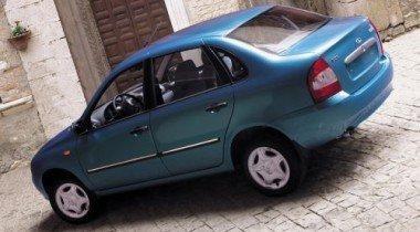 Самым продаваемым на российском рынке автомобилем стала Lada Kalina