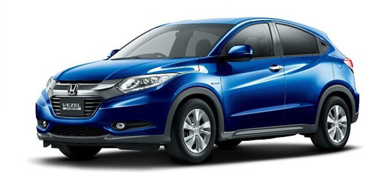 Honda запустила рекламу Vezel в Японии