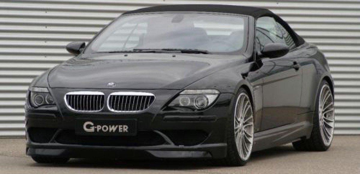 Ателье G-Power представляет кабриолет M6 Hurricane