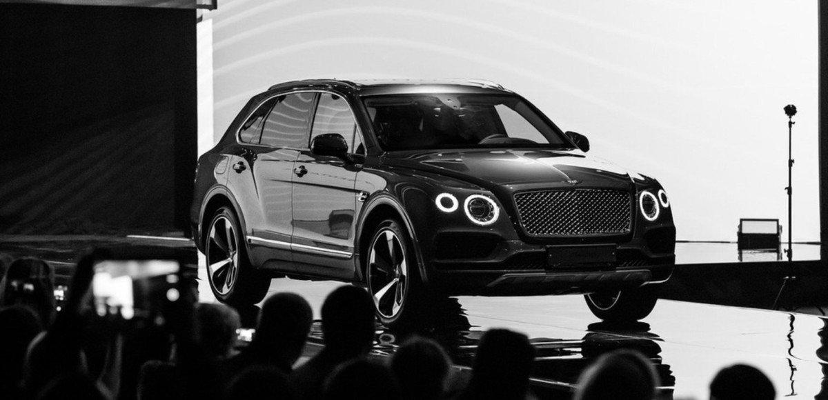 Bentley Bentayga пришел в Россию