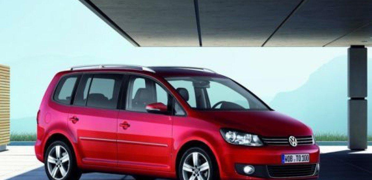 Volkswagen представляет новый Touran на автосалоне в Лейпциге