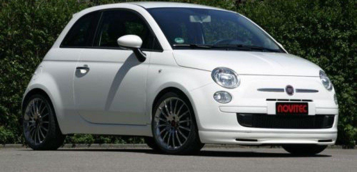 Новости тюнинга: новый спорт-пакет для Fiat 500 от ателье Novitec