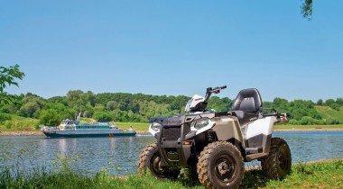 Polaris Sportsman Touring. «Спортсмен-турист» с новым мотором
