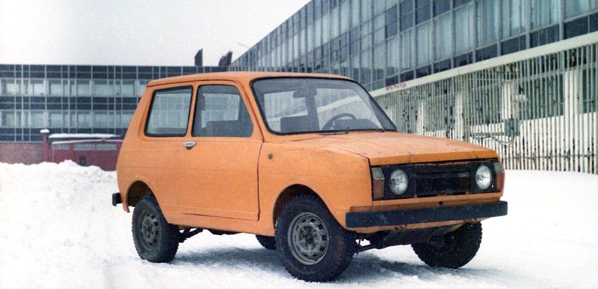 «Иж-14» — первый «паркетник»