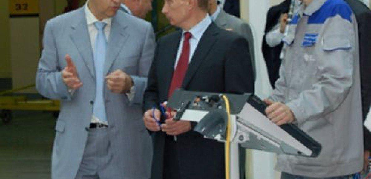 Владимир Путин посетил Горьковский автозавод