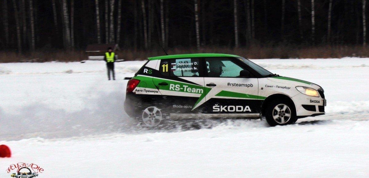 Команда RS-TEAM от «Авто Премиума» приняла участие в ледовом автомногоборье