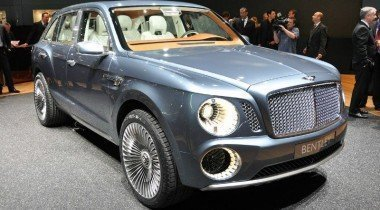 Bentley EXP 9 F. Несуразный, но перспективный