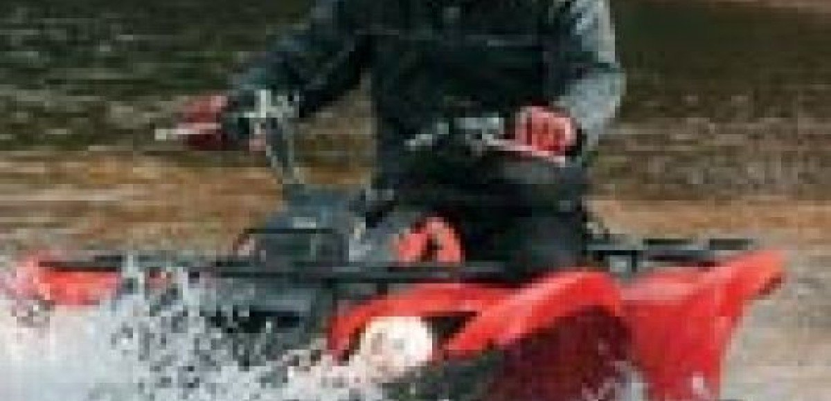 Yamaha Grizzly 700 FI. Медведь из сказки