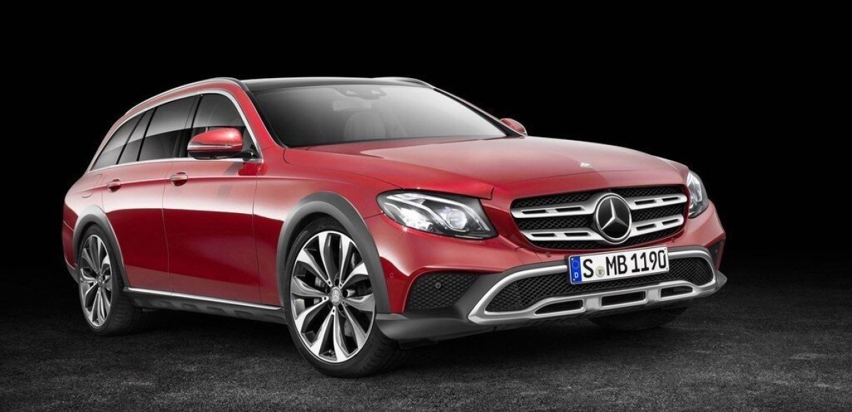 Mercedes-Benz E-class All-Terrain: объявлена рублевая цена