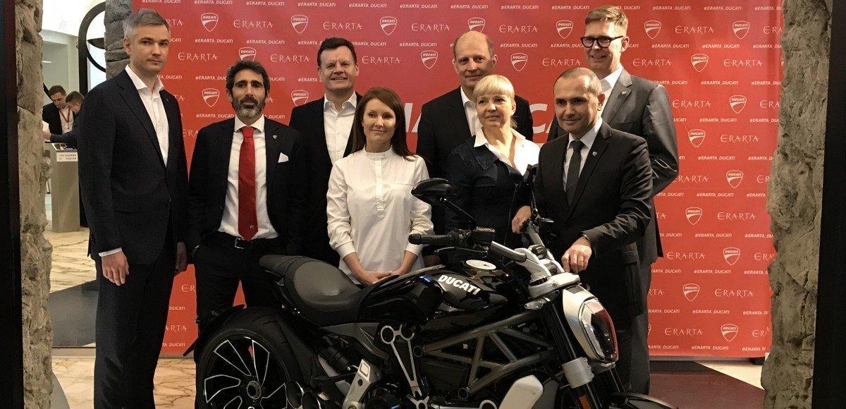 Мотоциклы Ducati заедут в Россию через VW