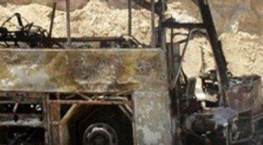 В Смоленской области сожжены 5 автомобилей и автобус