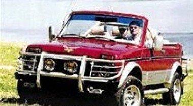 ВАЗ-2121 Cabrio. Русская пицца