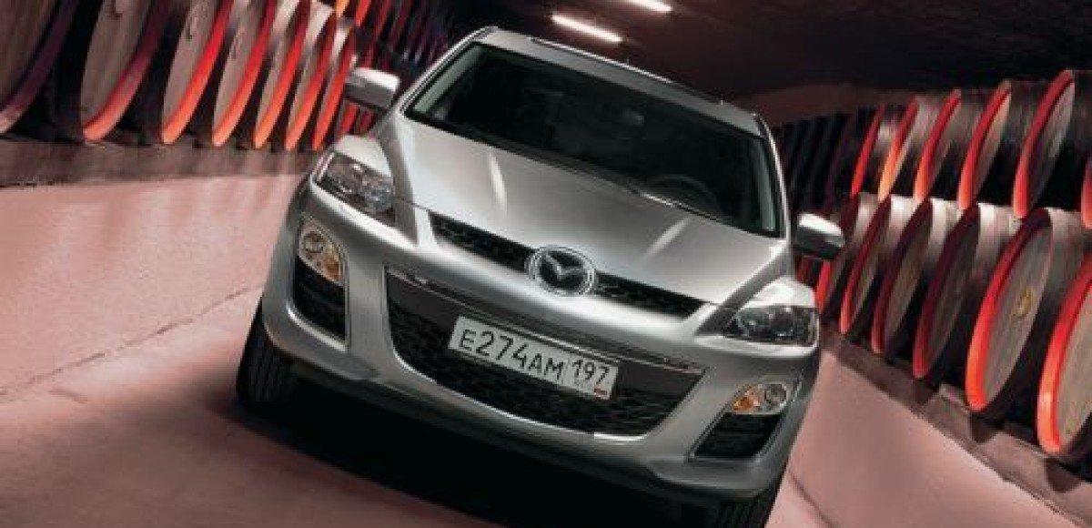 Переднеприводный Mazda CX-7 теперь в России