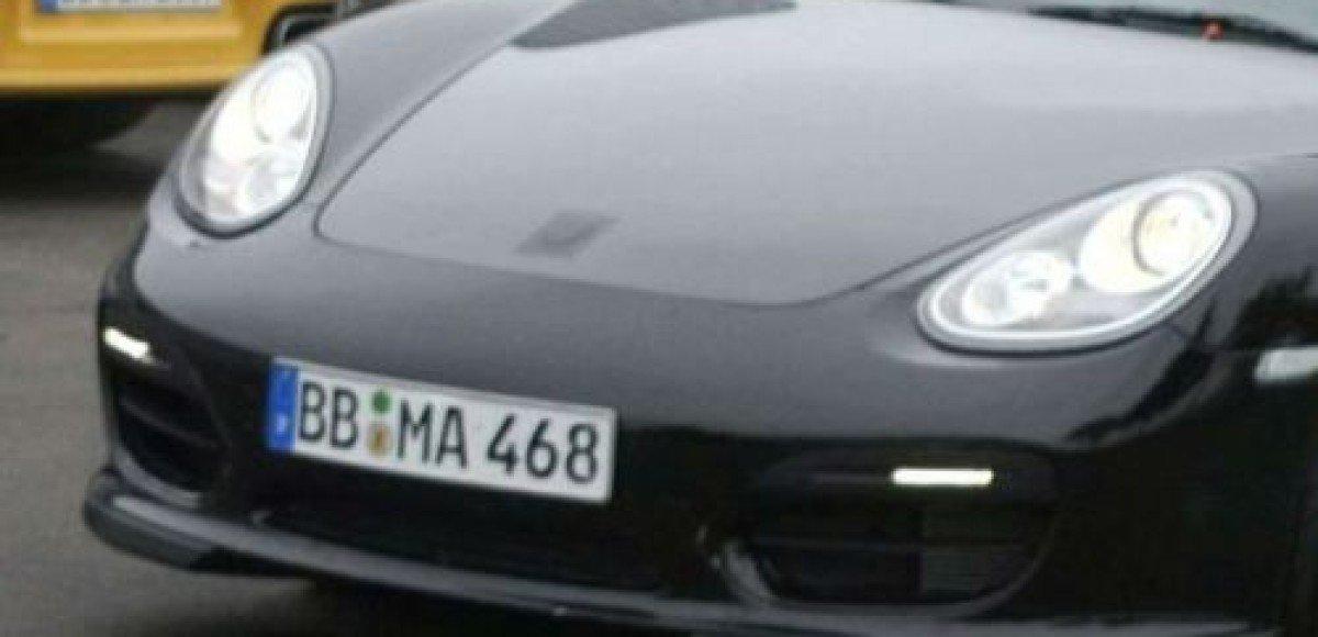Porsche Boxster Speedster. Шпионские фото