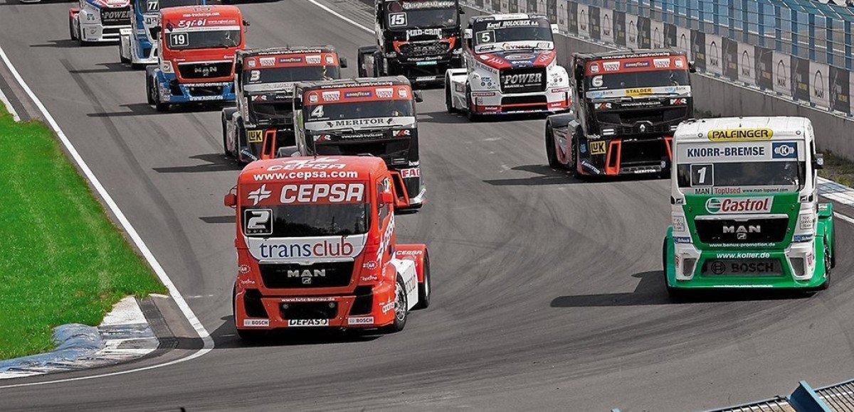 Truck Racing. Бог любит троицу?
