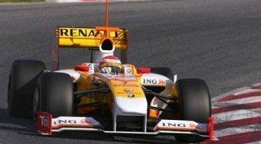 Новая покраска машин команды Renault ?