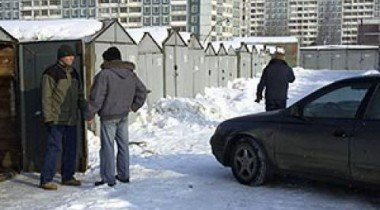 Возмущенные владельцы гаражей провели акцию на севере Петербурга