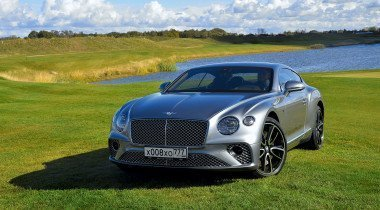 Тест-драйв Bentley Continental GT. Генератор адреналина