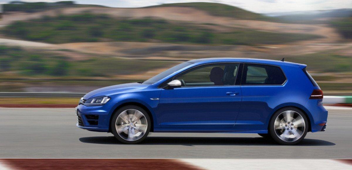 Volkswagen прокачали Golf R