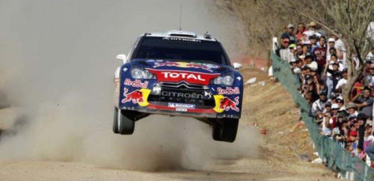 Первая победа Себастьена Лоэба на DS3 WRC