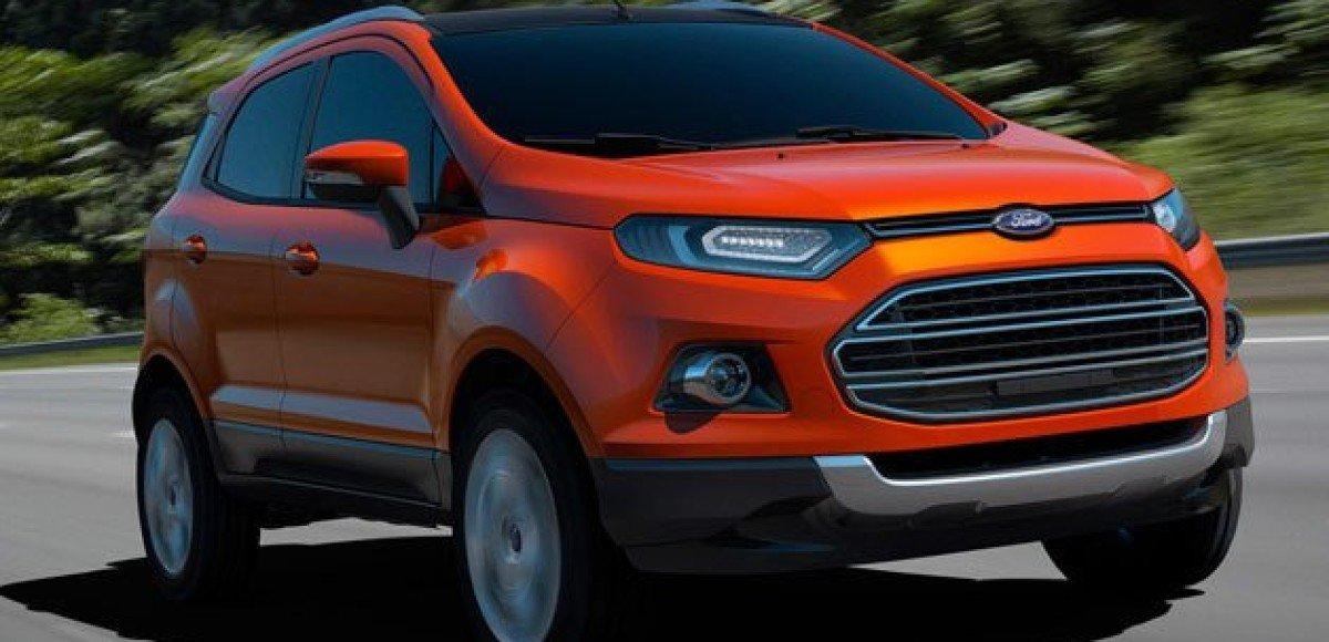 Новый Ford EcoSport показан в Нью-Дели
