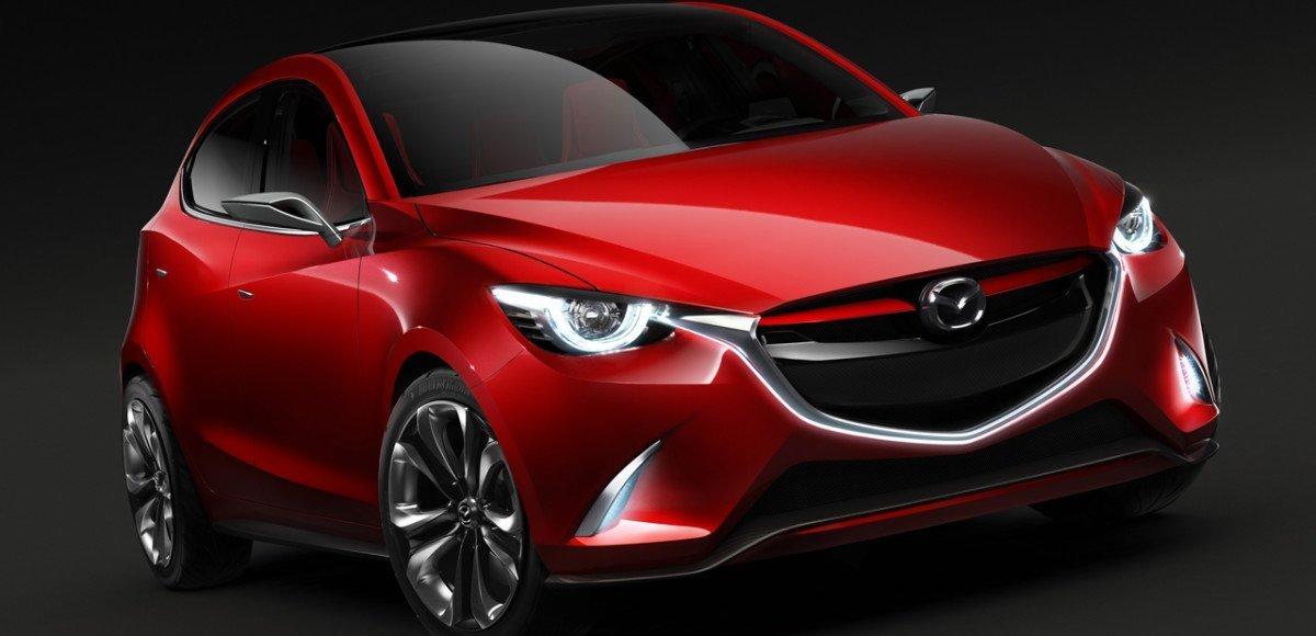 Будущая Mazda2 предстала в облике Hazumi на Женевском автосалоне