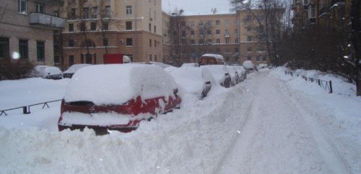 Сильных снегопадов в Москве не ожидается