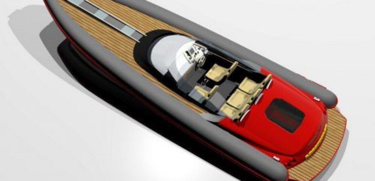 RIB M-GTRossocorsa. Ferrari на воде