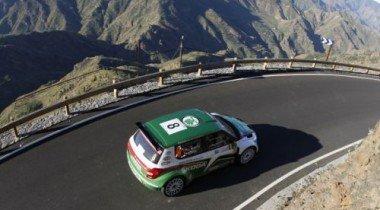 Двойная победа команды Skoda Motorsport на ралли Канарских островов